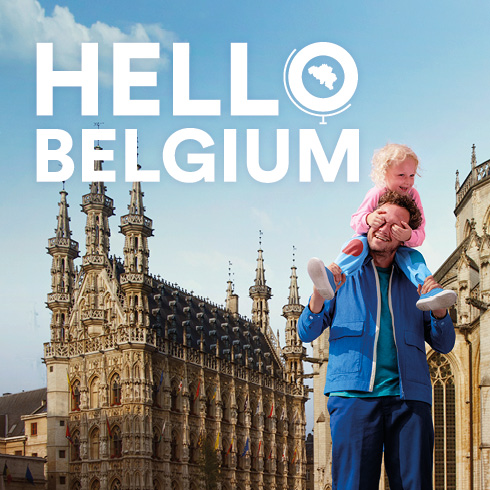 Hello Belgium Railpass