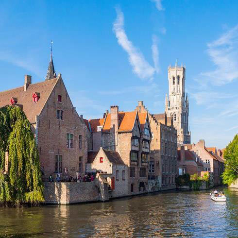 charming canals of Bruges