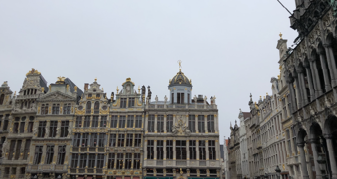 The Grand-Place in Brussels.